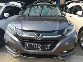 Honda HRV prestige tahun 2015 matik abu abu grey