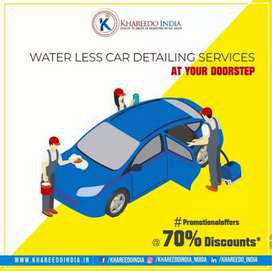 CAR DETAILING AND DRY CLEANING AT DOORSTEP