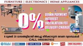 Furniture & Electronics at 0% EMI in NANDAVANAM with Free Delivery