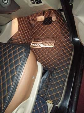 karpet 5D bahan kulit for Toyota Innova full sampai bagasi Th 2010-202