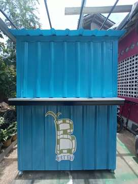 Ready Stok Booth Gerobak Container Custom ukuran 1,5x1x2m Jogja