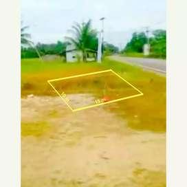 Tanah Kavling 10x15 m SHM lokasi persis pinggir jalan