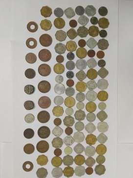 105 पुराने सिक्के केवल १५०० मे