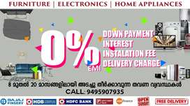 Furniture & Electronics at 0% EMI in ENIKKARA with Free Delivery