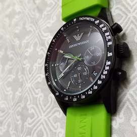Brand new emporio Armani men watch at very reasonable price. Just 9000