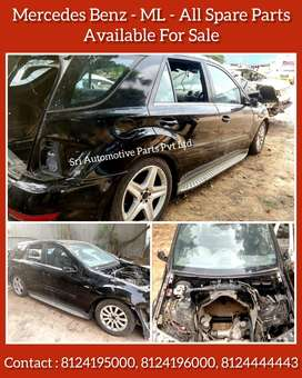 *MERCEDES BENZ - ML - | ALL SPARE PARTS | AVAILABLE FOR SALE |