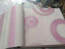 Wallpaper - Kasa Nyamuk Magnet - Vinyl Lantai kayu In Design