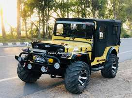 Open modified Willy's jeeps