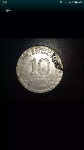 Pecinta Koleksi Uang Koin 10 rupiah Tahun 1979