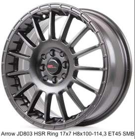 ARROW JD803 HSR R17X7 H8X100-114,3 ET45 SMB
