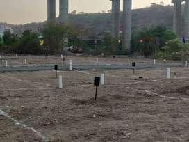 1 to 11 ghunta residential plots available at 18 lkh rs near katraj