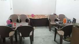 Plastic chairs (High Quality)along with table