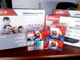 PAKET LENGKAP CCTV FULL HD, BISA PANTAU DI HP 24 JAM