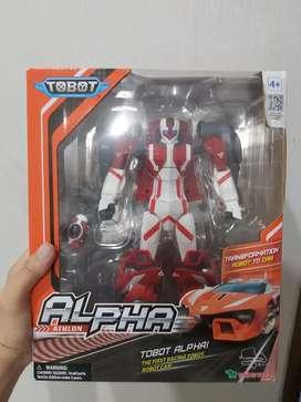 Mainan original young toys tobot athlon alpha