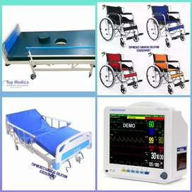 Medical hospital Bed manual & Electric Bed patient
