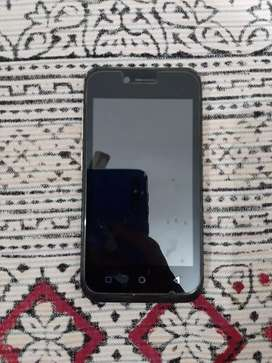Mobile with 4g one scratch on screen