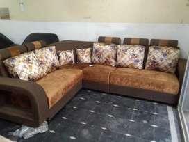 Corner sofa set new