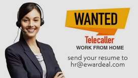 Telecaller permanent work from home