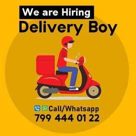Need Delivery boy urgently in Karunagappally