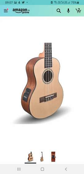 Uklele almost brand new with cover