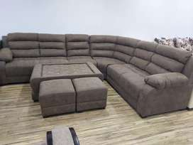0% EMI from bajaj 9 seater sofa with center table