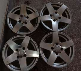 """Alloy Rim 100.PCD Size is 13"""" best for japani cars"""