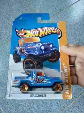 Hotwheels jeep scrambler