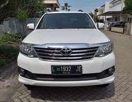 Toyota fortuner G dsl manual 2012 putih