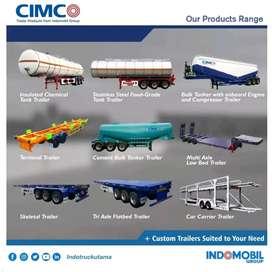 Trailer 20-40 Feet, Kontainer, Fuel Tank, CPO Tank, Dump,  Kab Sumbawa