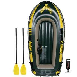 Intex Seahawk 2, 2-Person Inflatable Boat Set