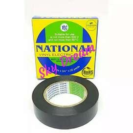 Lakban isolasi listrik national pvc 3/4 inci