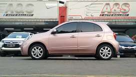 Nissan March 1.5 L AT 2015 Merah Muda KM dibwh 50rb