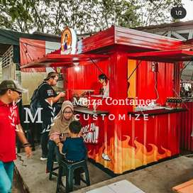 Booth Container KEDAI |Container Cafe Nongkrong | BOOTH coffee } 8