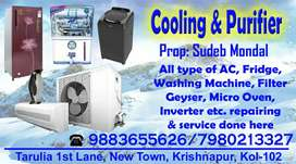 Cooling & purifier