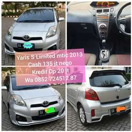 Cash Nego Yaris S Limited 2013 matic cash nego