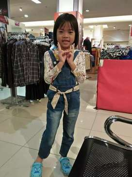 Overal Jeans Anak perempuan