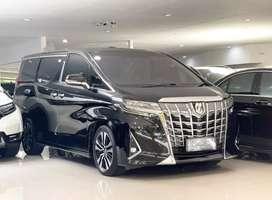 Toyota Alphard 2.5 G ATPM Th 2019, Km 8rb Record Toyota