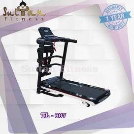 Alat Treadmill Elektric TL 607 3 Fungsi Alat Fintess Surabaya