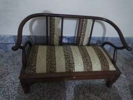 A four seater Chinese sofa set