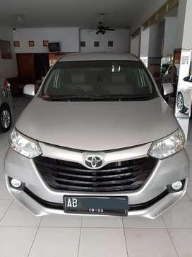 Toyota Avanza E 2017 Automatic