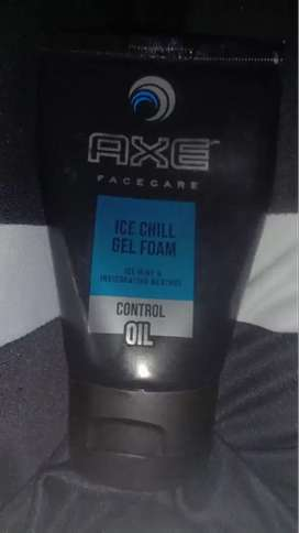 axe man face wash ice chill