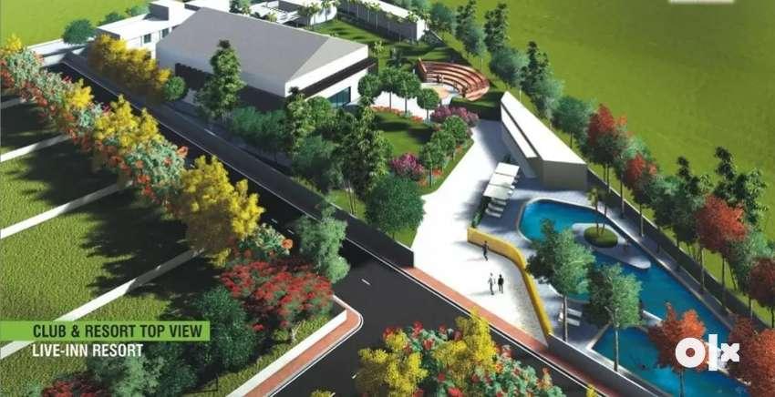 556 sy open plot in Luxurious RESORT at BB NAGAR Ghatkesar INFOSYS
