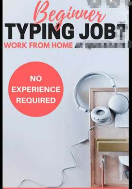Best data typing or entry at home based join us
