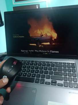 Asus radeon Laptop +HP wireless mouse and keyboard worth