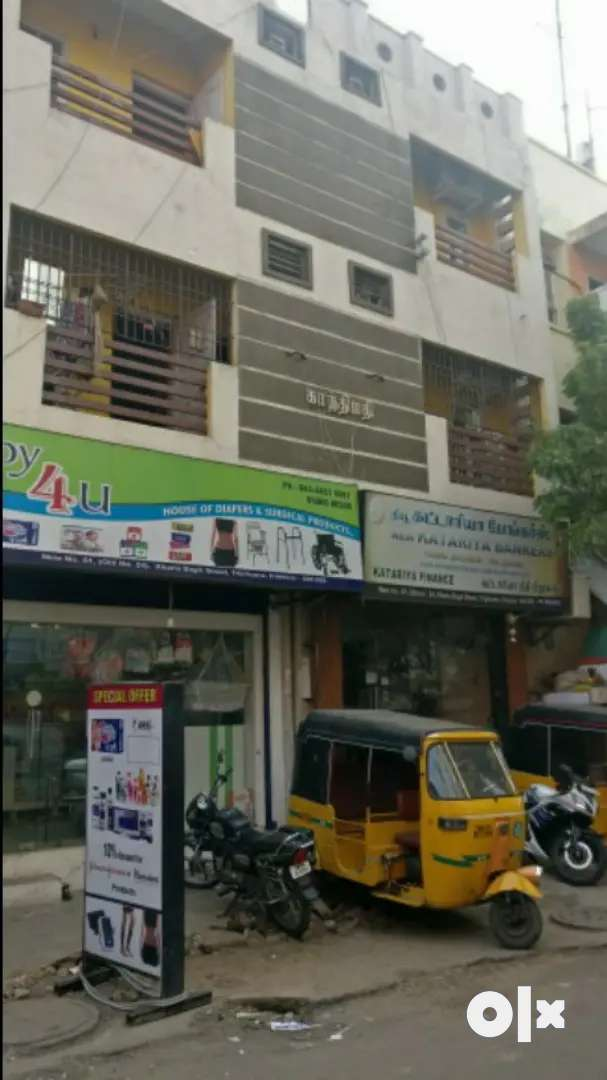 220 sqft furnished commercial shop at heart of Triplicane high rd Rent 0