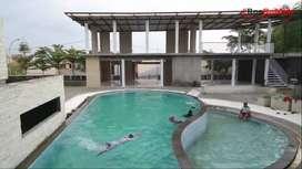 Rumah subsidi fasilitas kolam renang