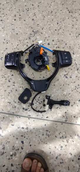 Vitz 2011-2020 steering controls + spiral cable ( fix price )
