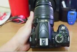 Kamera Dslr Nikon D3100 Free memory dan tas ( kamera vlog )