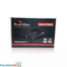 Rock mars 3600w 2 channel amplifier