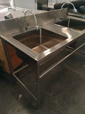 Meja Sink Stainless Steel Anti Karat Bahan Awet